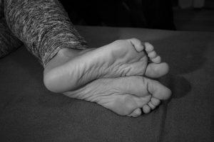 Spodok nôh bez nákazy